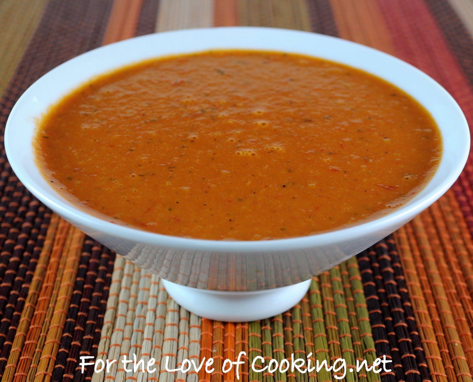 roasted tomato vinaigrette for the love of cooking