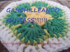 SAL MANTA DE GANCHILLO