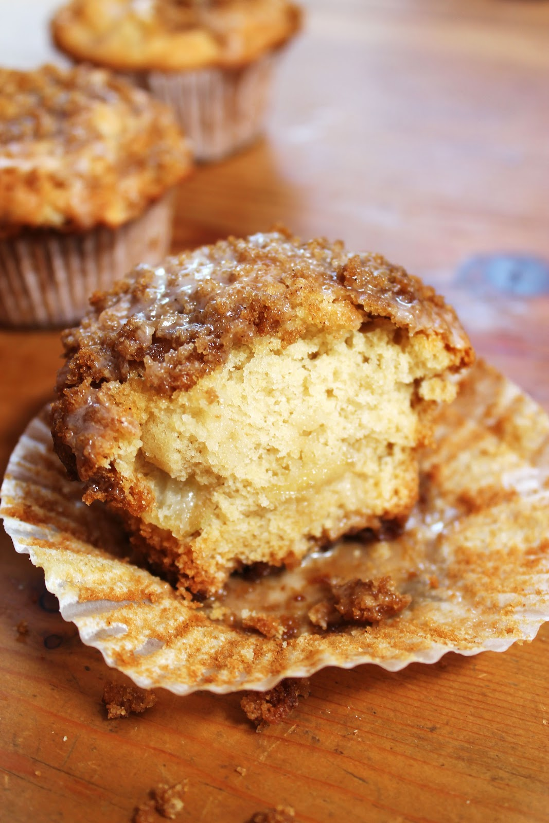 Food Nasty: Cinnamon crumble apple muffin