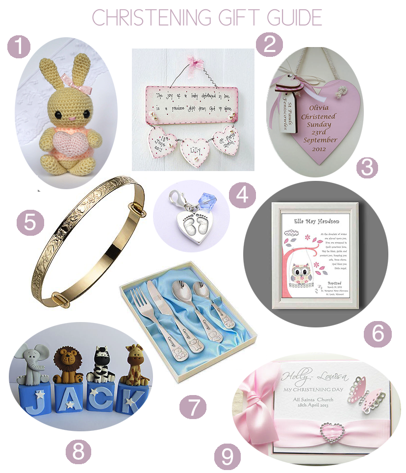 Christening gift guide oh so amelia - Gifts for baby christening ideas ...