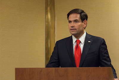 For all Marco Rubio's God talk, it's unlikely to land him the US's Commander-in-Chief job ...