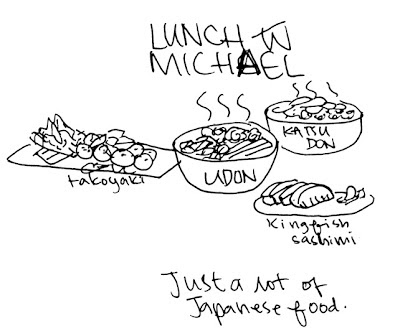 I have a tendency to only eat Japanese food when I go to the city