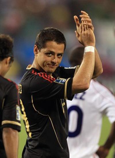 Javier Chicharito Hernandez Mexico Striker Manchester United