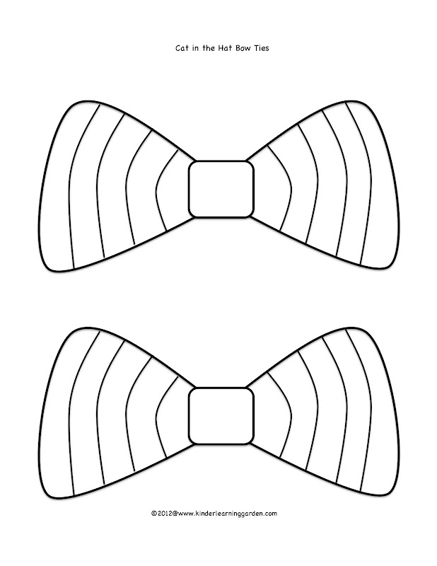Dr. Seuss bow ties, color and just add yarn! title=