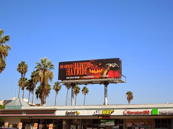 LA Haunted Hayride 2014 billboard