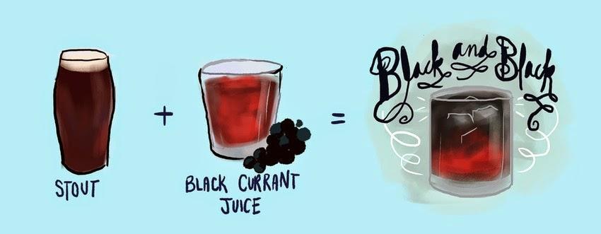 Black & Black coctel
