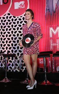 Actress Alia Bhatt  Pictures at MTV Coke Studio Season 4 Launch  5