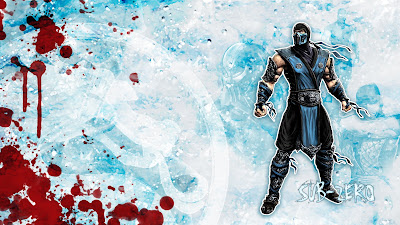 MK9 Sub Zero Mortal Kombat 2011 Wallpaper