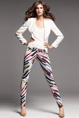 H&M pantalones mujer colores