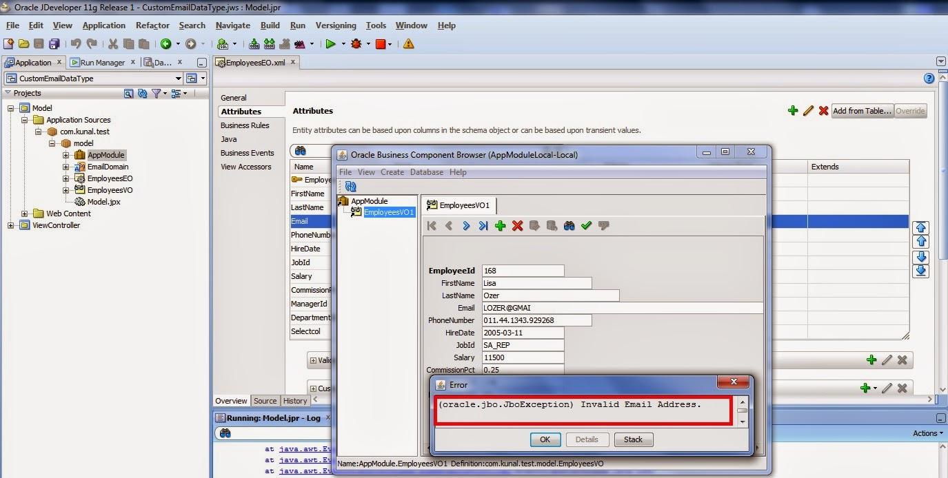 Creating Custom Data Types Using Domain In Adf Kunal Kumar S Blog