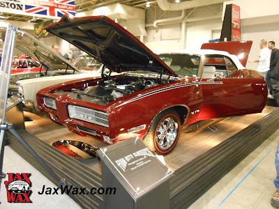 Jax Wax 1969 Pontiac GTO