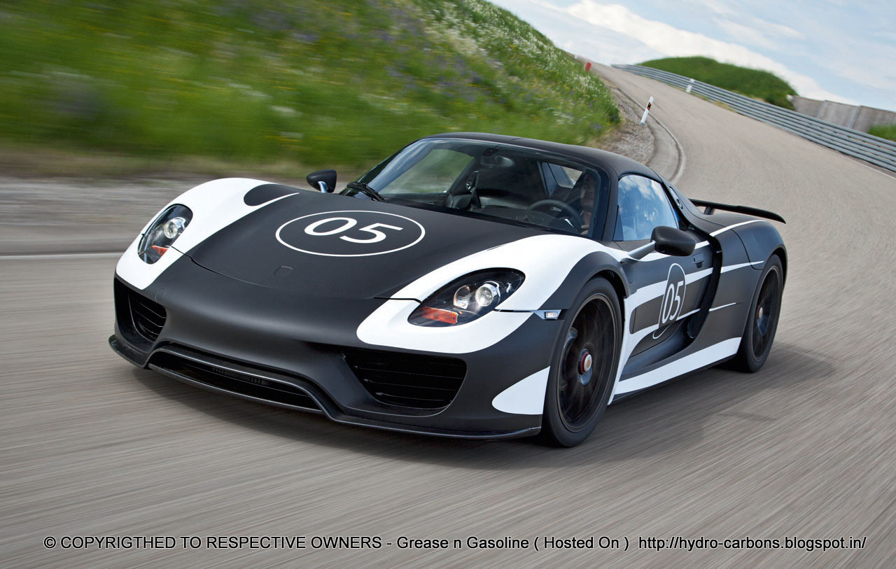 video porsche 918 spyder first ride way2speed. Black Bedroom Furniture Sets. Home Design Ideas