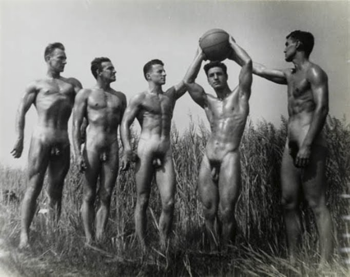 Vintage nude men naked