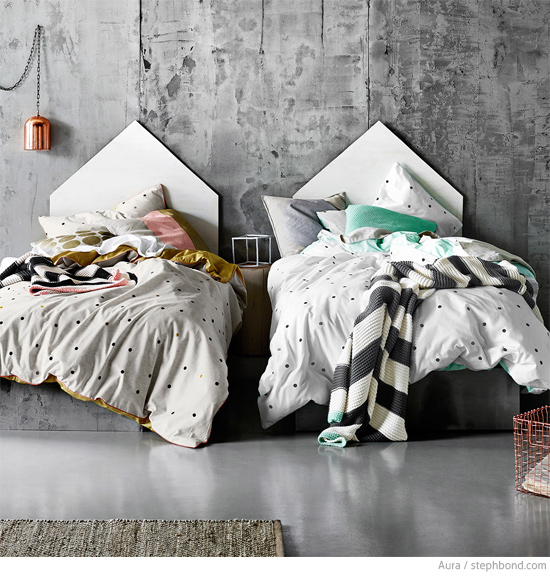 Bondville kids bed linen from aura win 150 voucher for Tracie ellis bedding