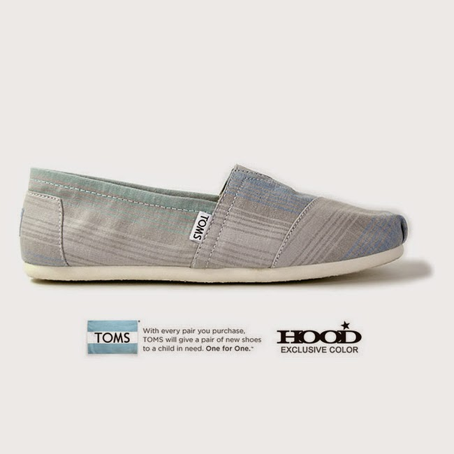 TOMS HOOD EXCRUSIVE<br>Classics Blue Summer Stripe.