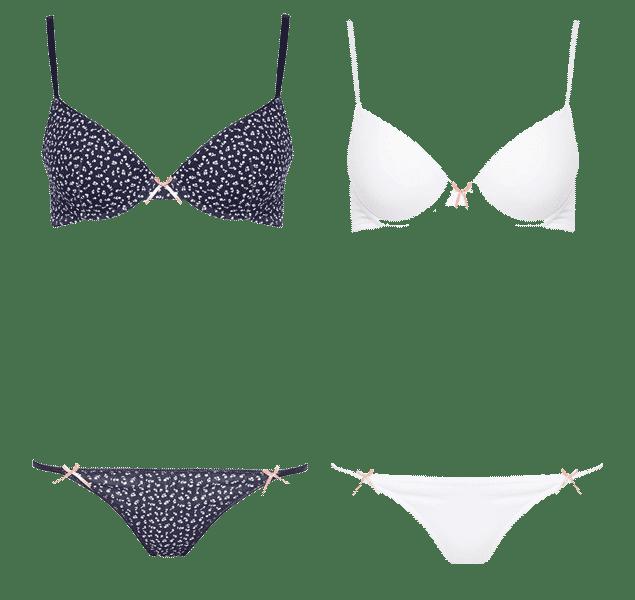 Conjuntos de lencería de Primark