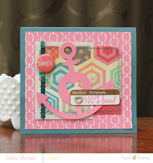 100% Loved Card by Juliana Michaels
