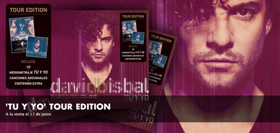 David Bisbal Tu y Yo Tour Edition, 17 junio 2014 a la venta