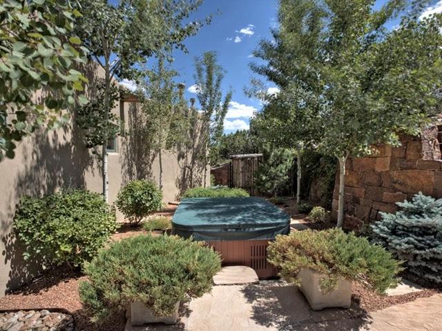 Photo of backyard