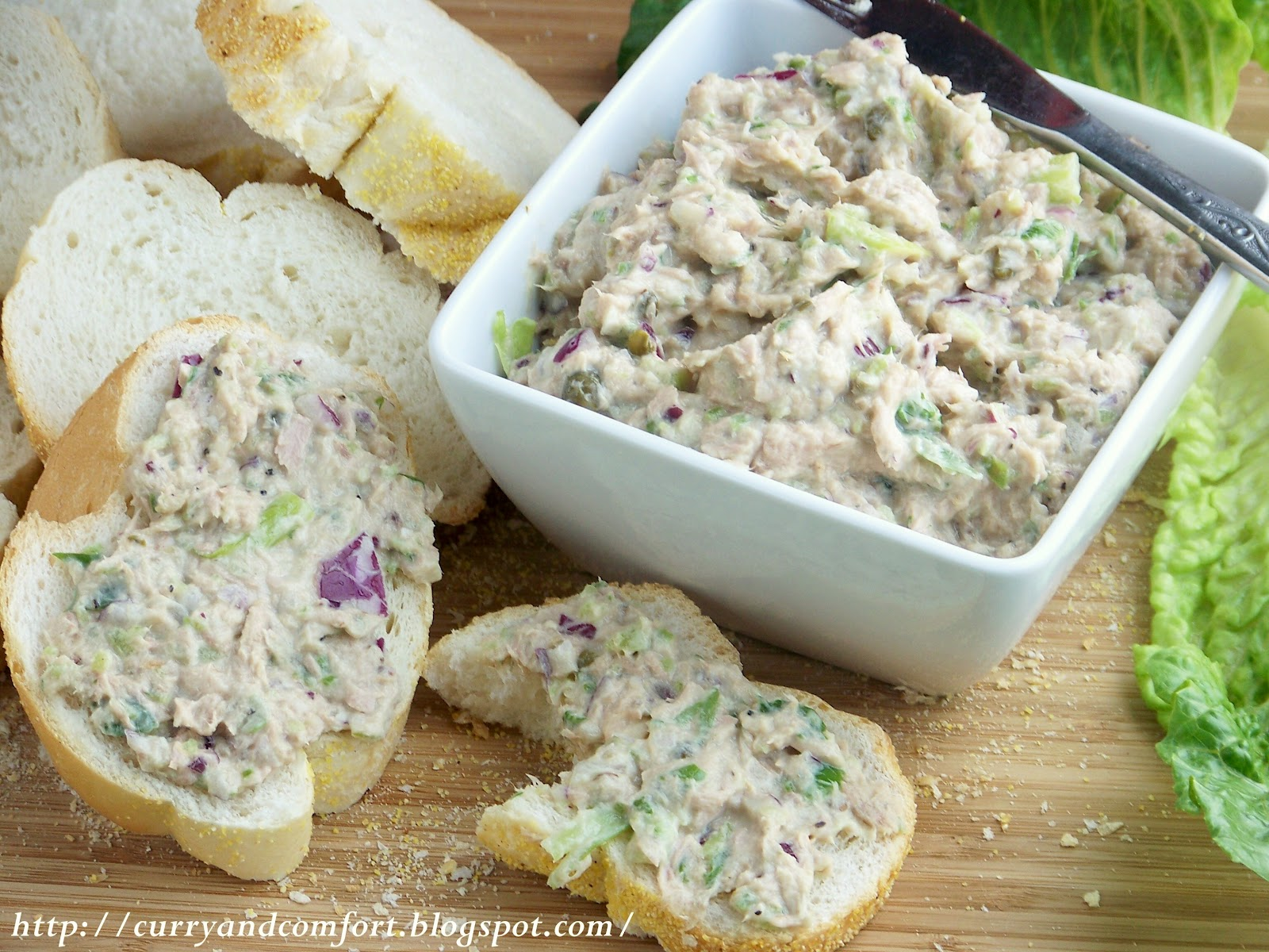Kitchen simmer fully loaded tuna salad for Best tuna fish salad