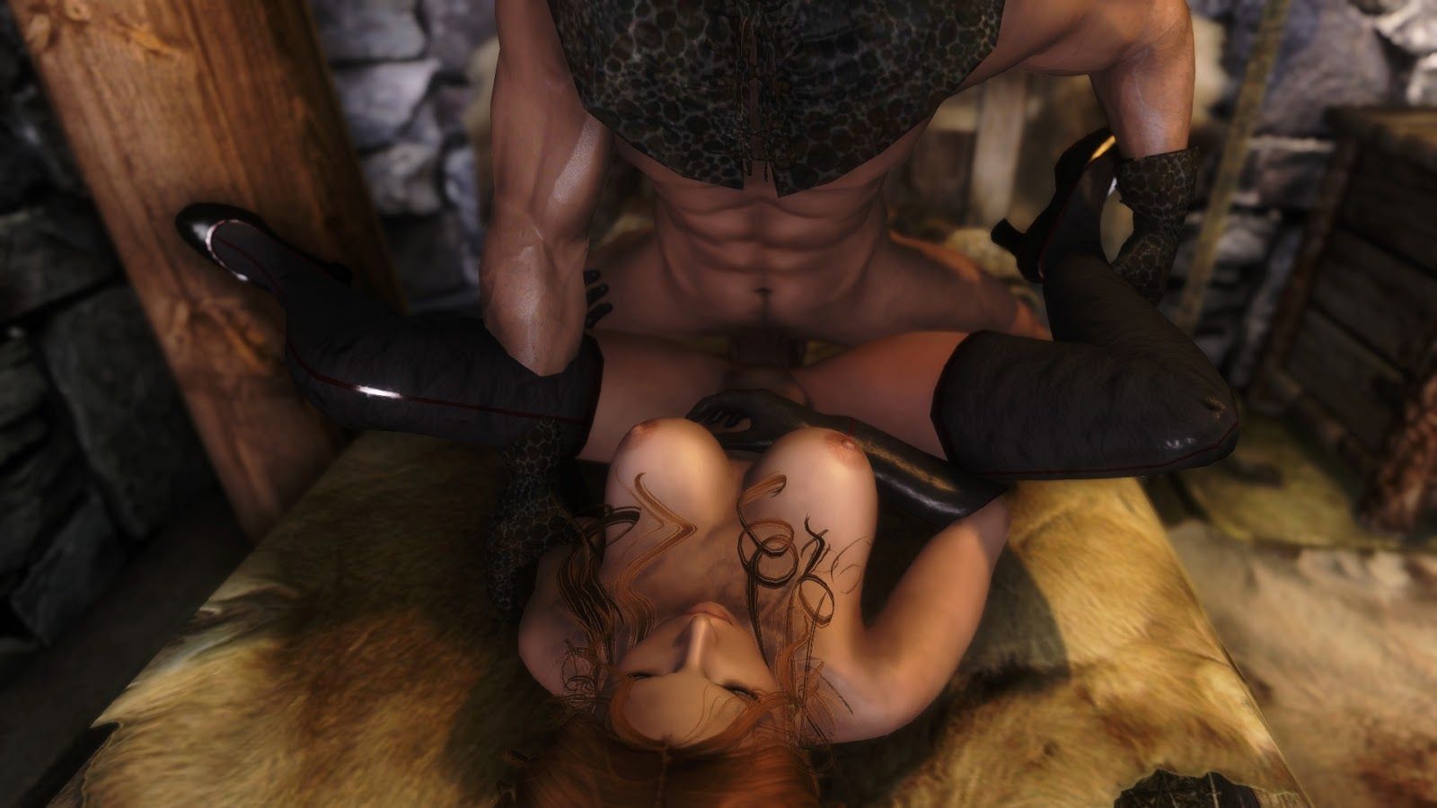 Skyrim adult-only mods sex hardcore naked scenes