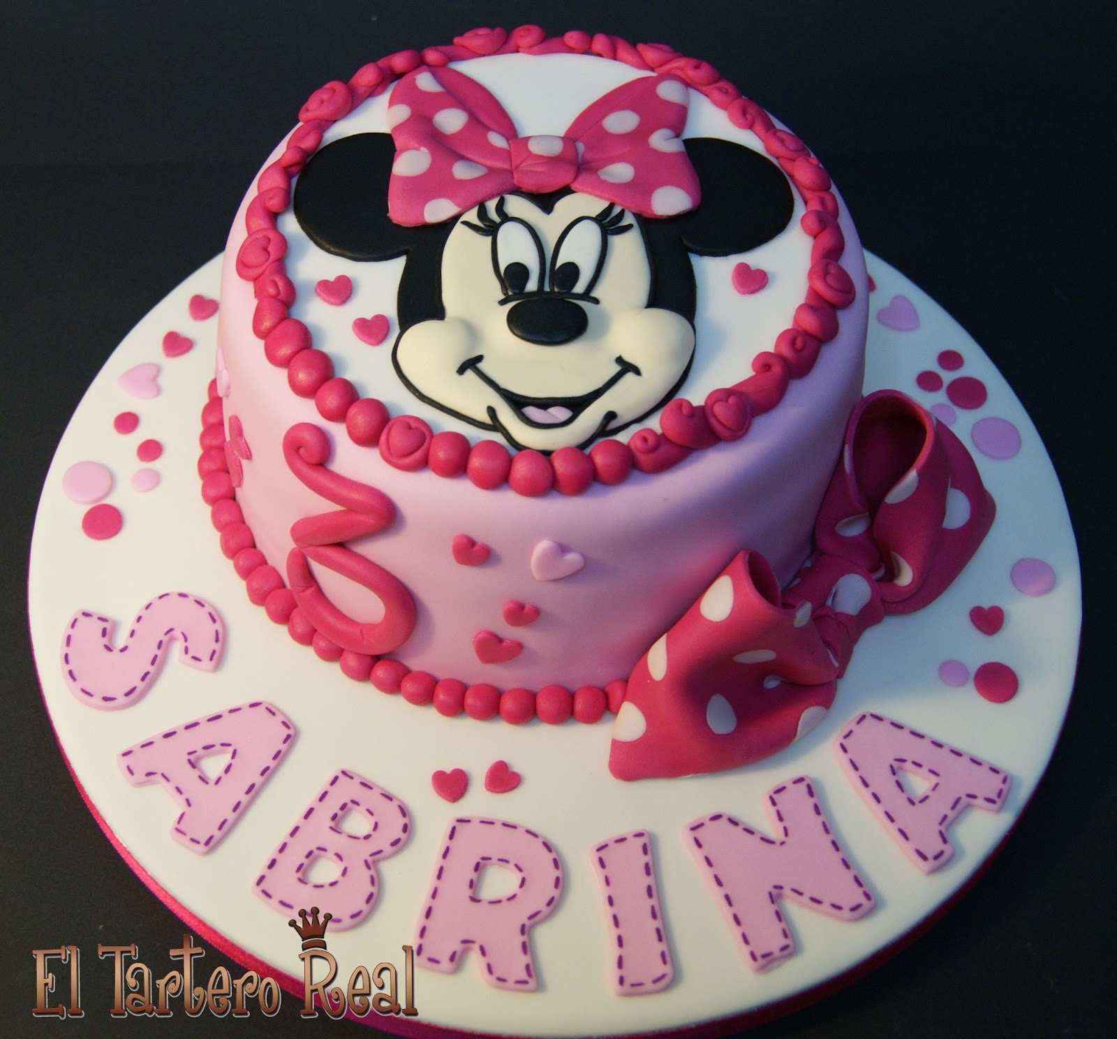 El Tartero Real: Tarta Minnie Mouse 2D
