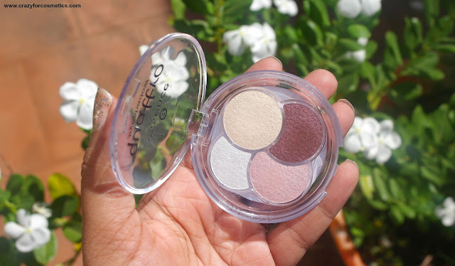 Essence Quattro Eye shadow Quad Must Have Review and Swatches