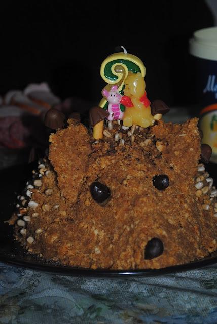 Торт ежик соник фото
