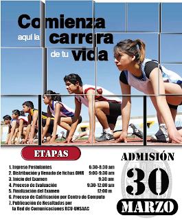 Ingresantes examen UNSAAC 2014-1 Cusco resultados domingo 30 de Marzo, domingo 30 de Marzo