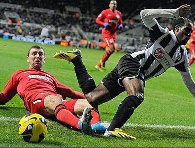 Newcastle-Wigan 3-0
