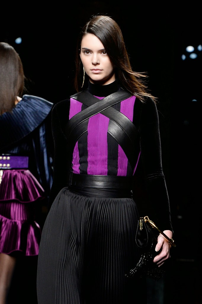 Fashion Model, TV Personality @ Kendall Jenner - Balmain Runway Show in Paris