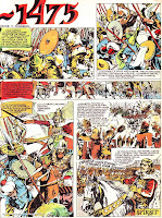 bd benzi desenate revista luminita cutezatorii vasile manuceanu vintila mihaescu comics desene romania 1475 soliman pasa stefan ce lamre truci razboi batalie