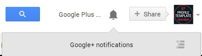 new google plus notifications panel