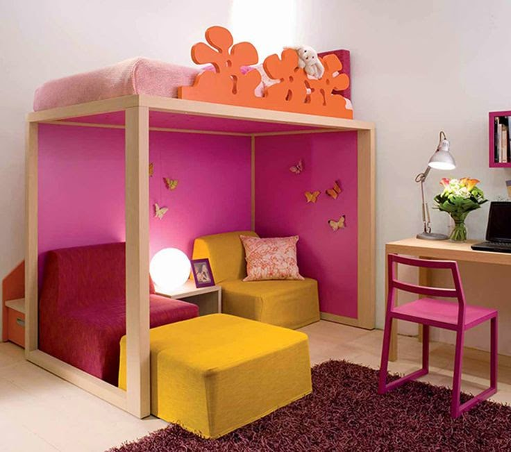 Perfect Study Area In Kids Rooms | New Ideas Of Kids Study Table In Bedroom