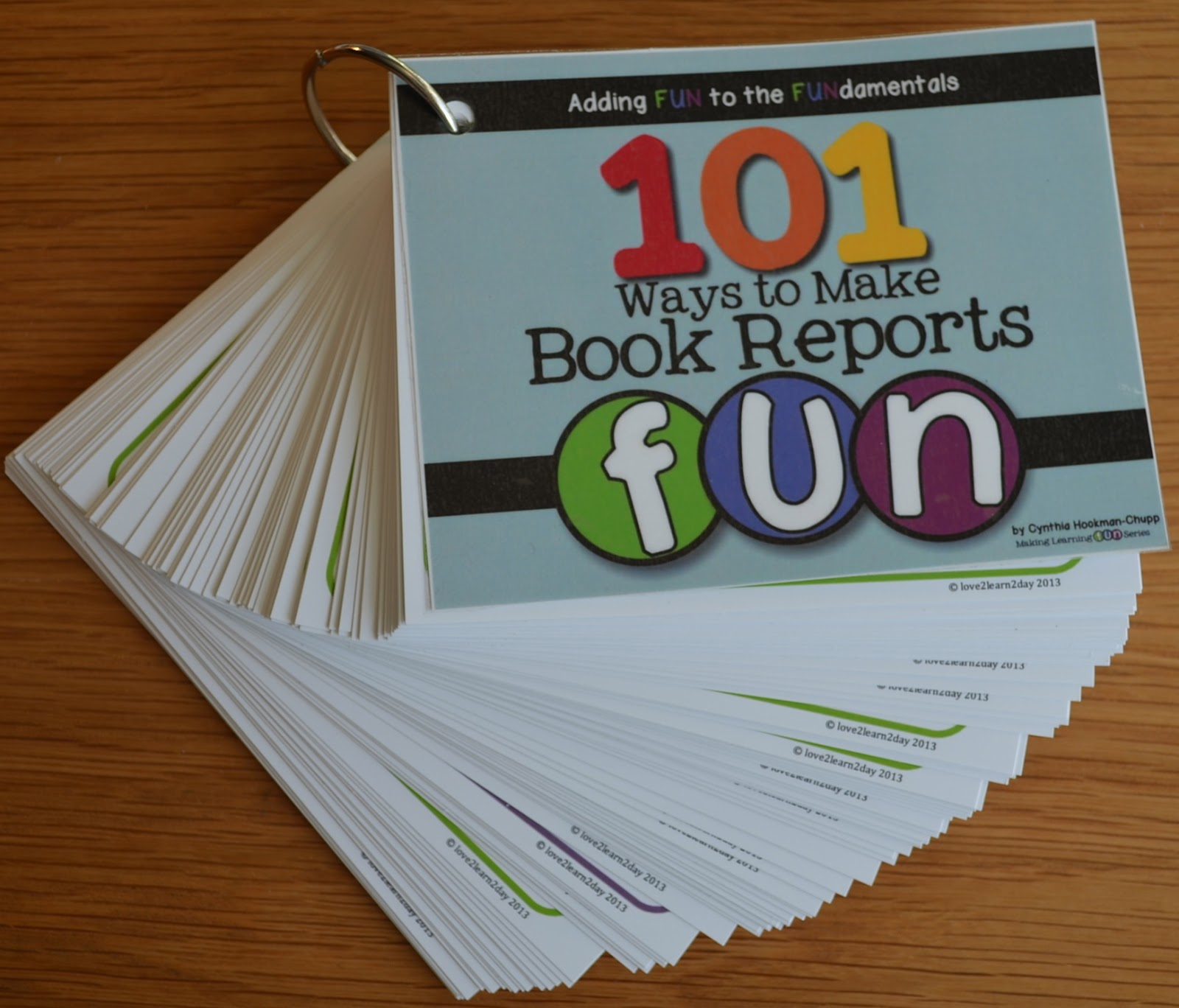 type a book report online