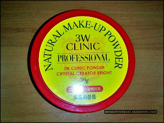 Natural Make Up Powder 3W Clinic Proffesional