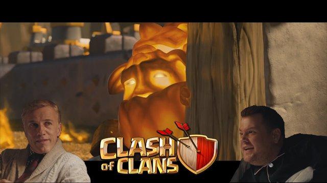 La toute nouvelle campagne de pub de Clash of Clan a débarqué sur les écrans de cinéma Américains et sur Internet. Deux acteurs célèbres y interprètent une « histoire vraie », tirée de récits de parties de joueurs rapportés par la communauté.