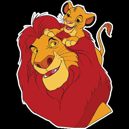 Simba e Mufasa!