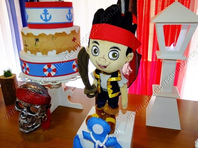 Decoração de festa infantil Jake e os Piratas da Terra do Nunca