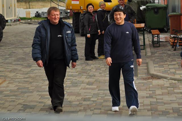 Džekijs Čans Jelgavā Jackie Chan