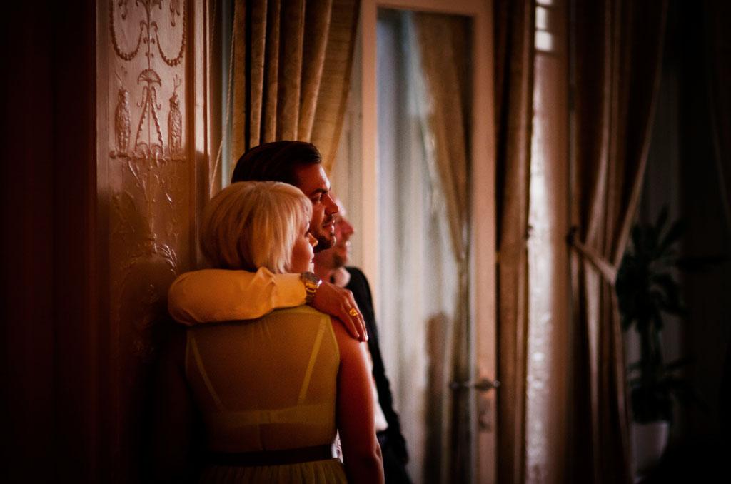 Par på bröllopsfest | Bergalid