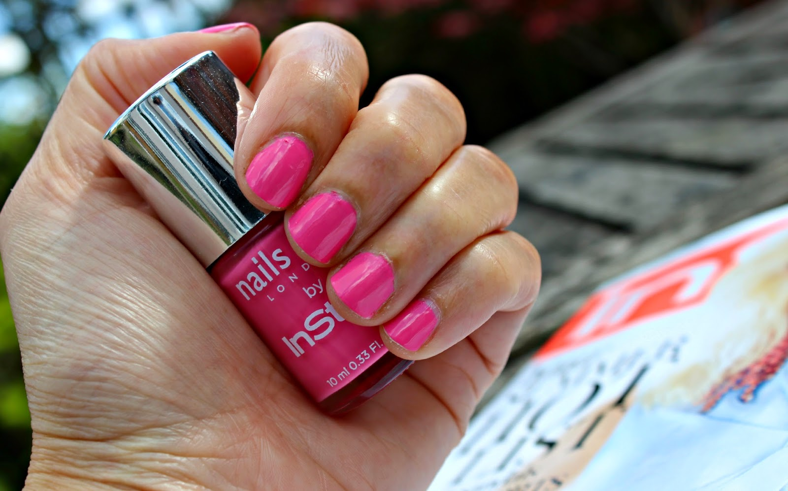 A picture of Nails Inc with June Instyle