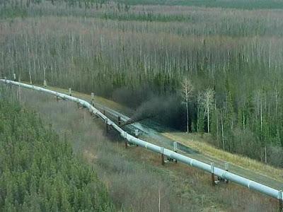 Alberta oil pipeline spill