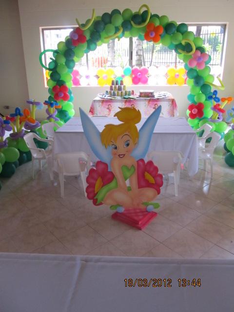 Fiesta tematica campanita tinker bell fiestas - Fiesta infantil tematica ...