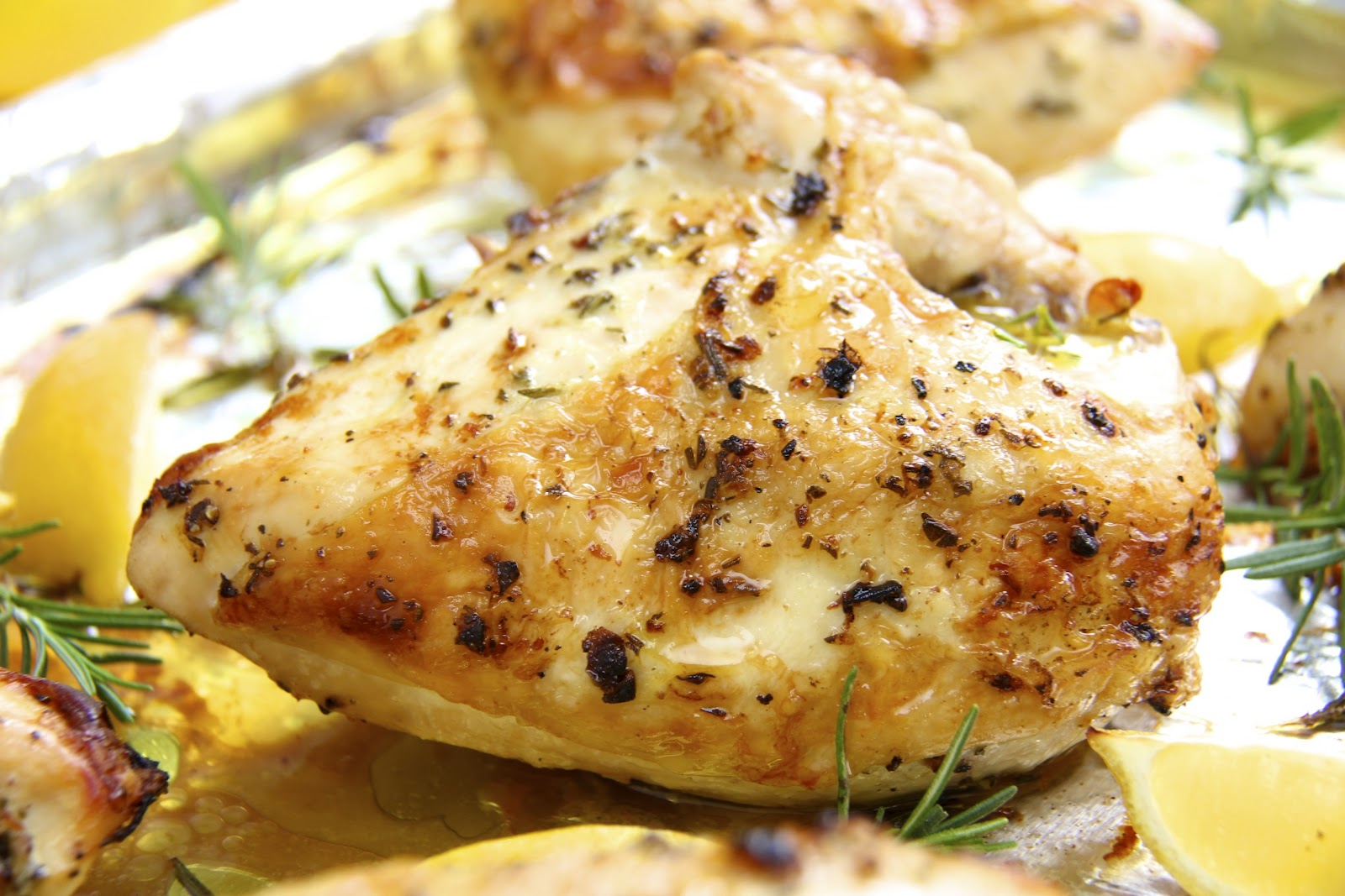 chicken with these amazing, super simple roasted chicken breasts ...