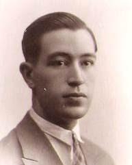 El ajedrecista Pere Cherta de joven
