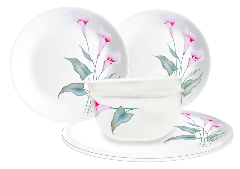 Choose from 4-pc 5-pc 6-pc 7-pc and 8-pc dinnerware sets at more affordable prices! These configurations are available in the Philippines only.  sc 1 st  Mommy Bloggers Philippines & Mommy Bloggers Philippines: Affordable NEW Small Sets of CORELLE ...