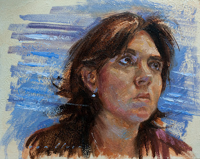 Anna Black oil painting