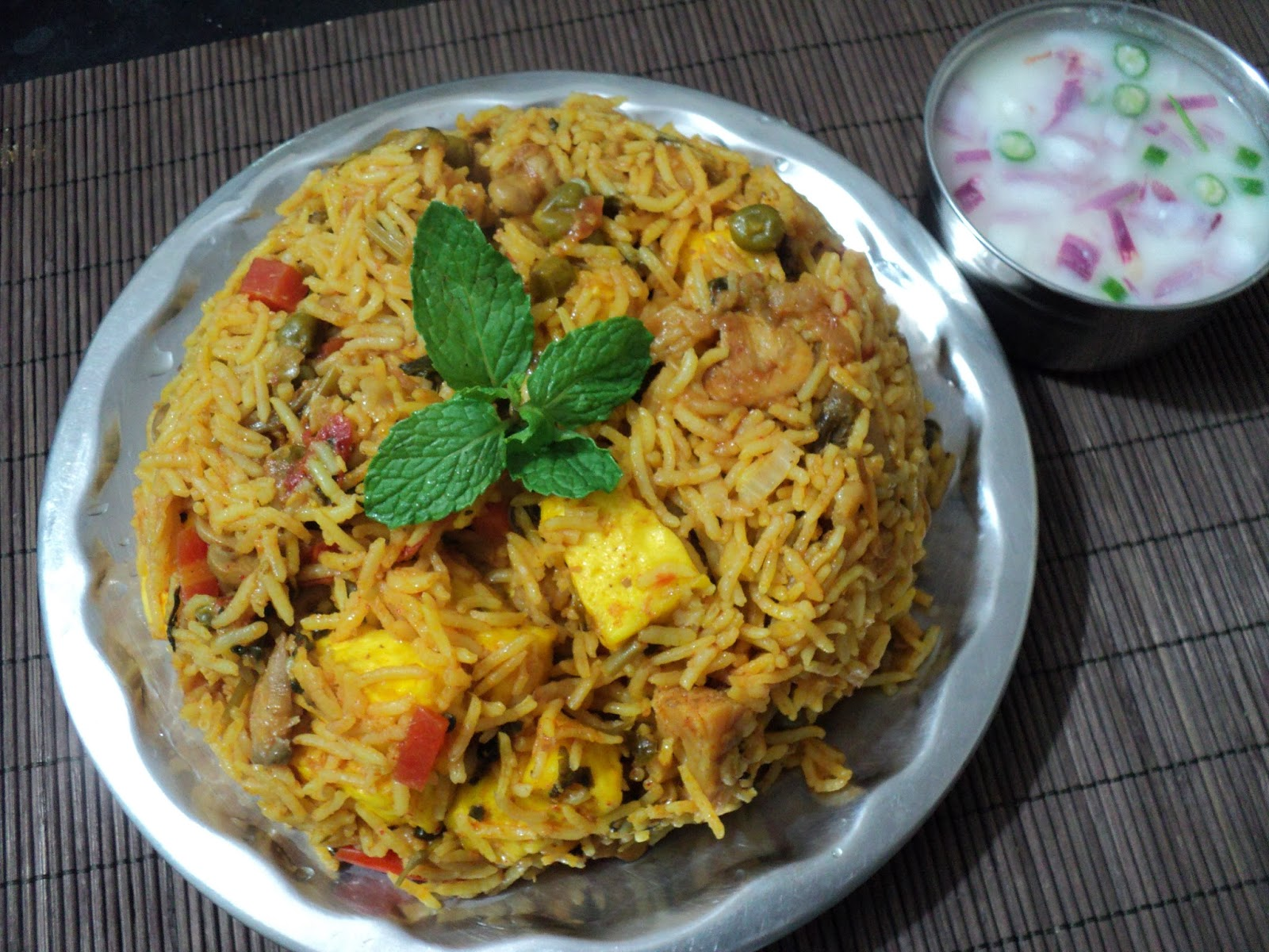 Oriyarasoi the cosmopolitan odias kitchen chettinad veg biriyani forumfinder Gallery