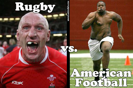 a comparison of rugby and football Rugby vs soccer: what rugby referees in november 2012, he was cleared by the english football association of using inappropriate language (a press department.